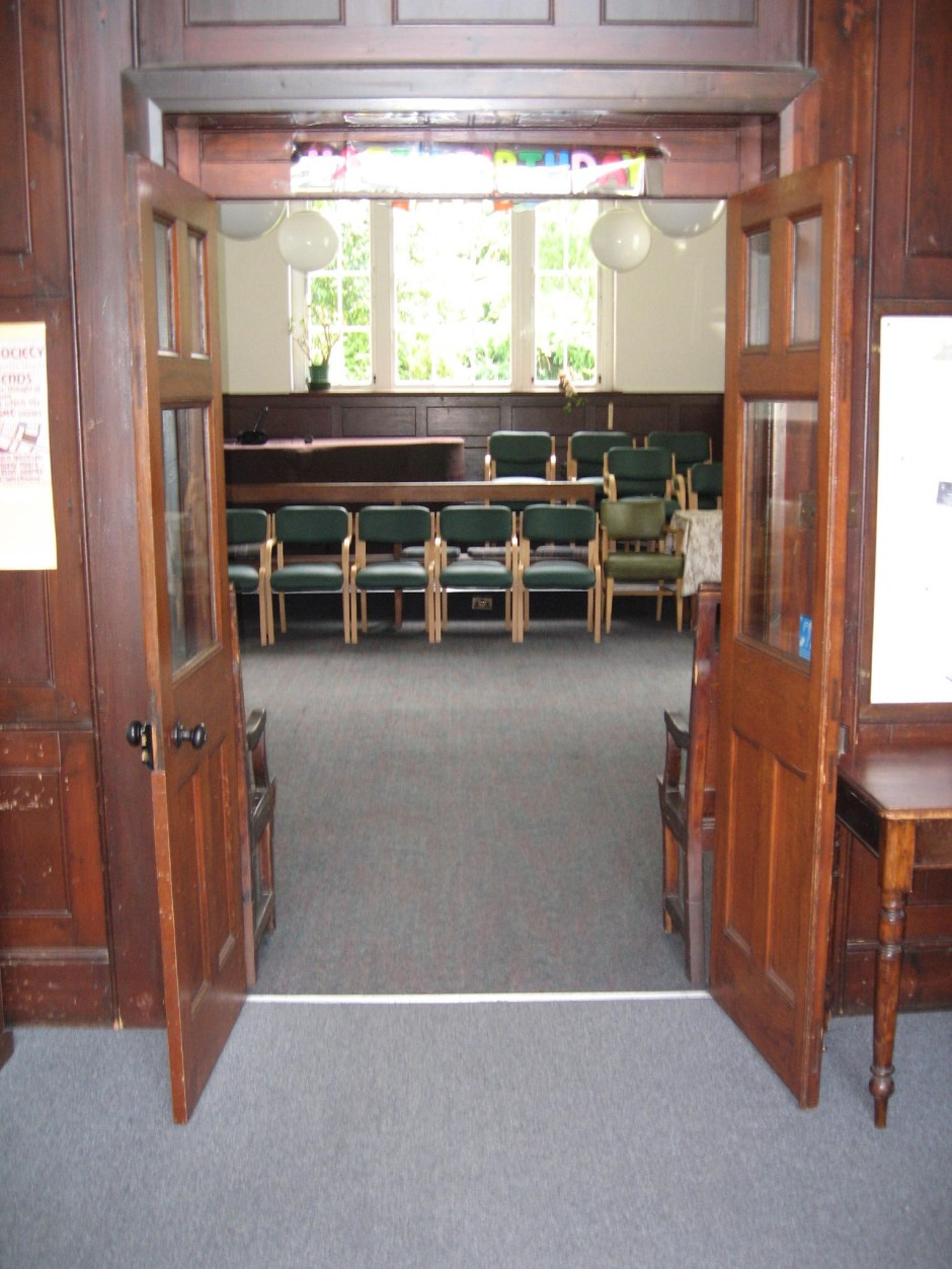 Doors to Meeting Hall
