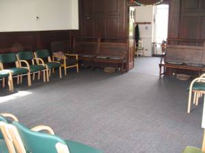 Empty Meeting Hall