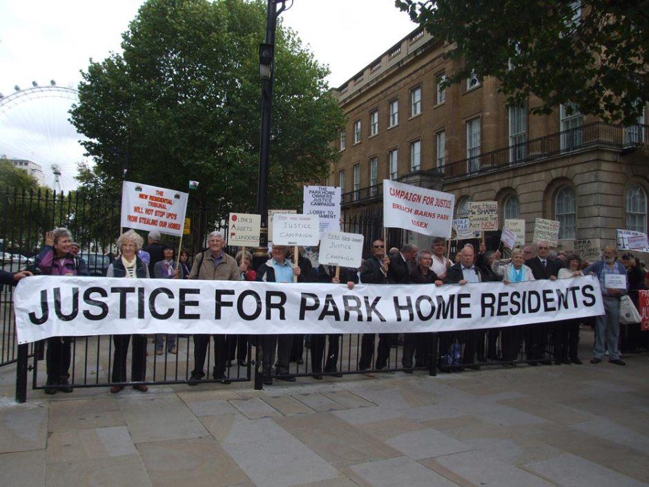 Parks Homes Banner